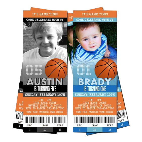 custom tickets and tags