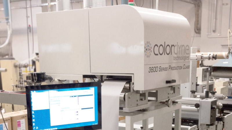 Colordyne Partners with Mark Andy to Provide Hybrid Digital Press to  Diversified Labeling Solutions