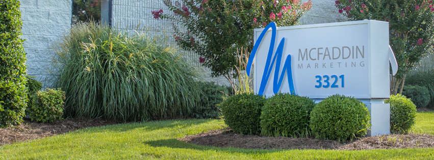 McFaddin Marketing Entrance Sign