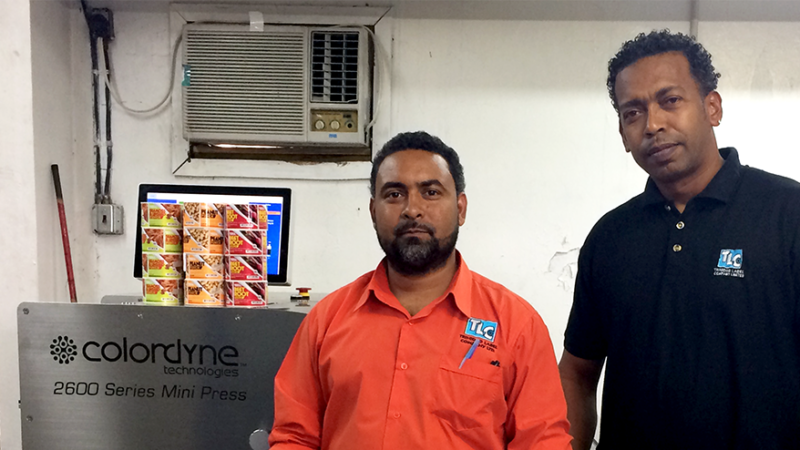 Trinidad Label Company Expands Its Business with Colordyne 2600 Series Mini Press